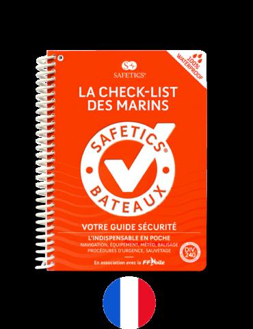Safetics la Check-list des Marins – Edition Française – Couverture Classique