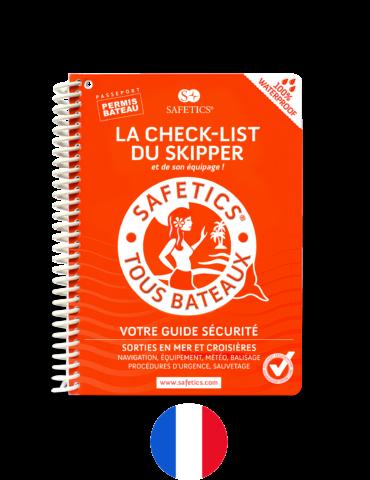 Safetics la Check-list des Marins – Edition Française – Couverture Sirène